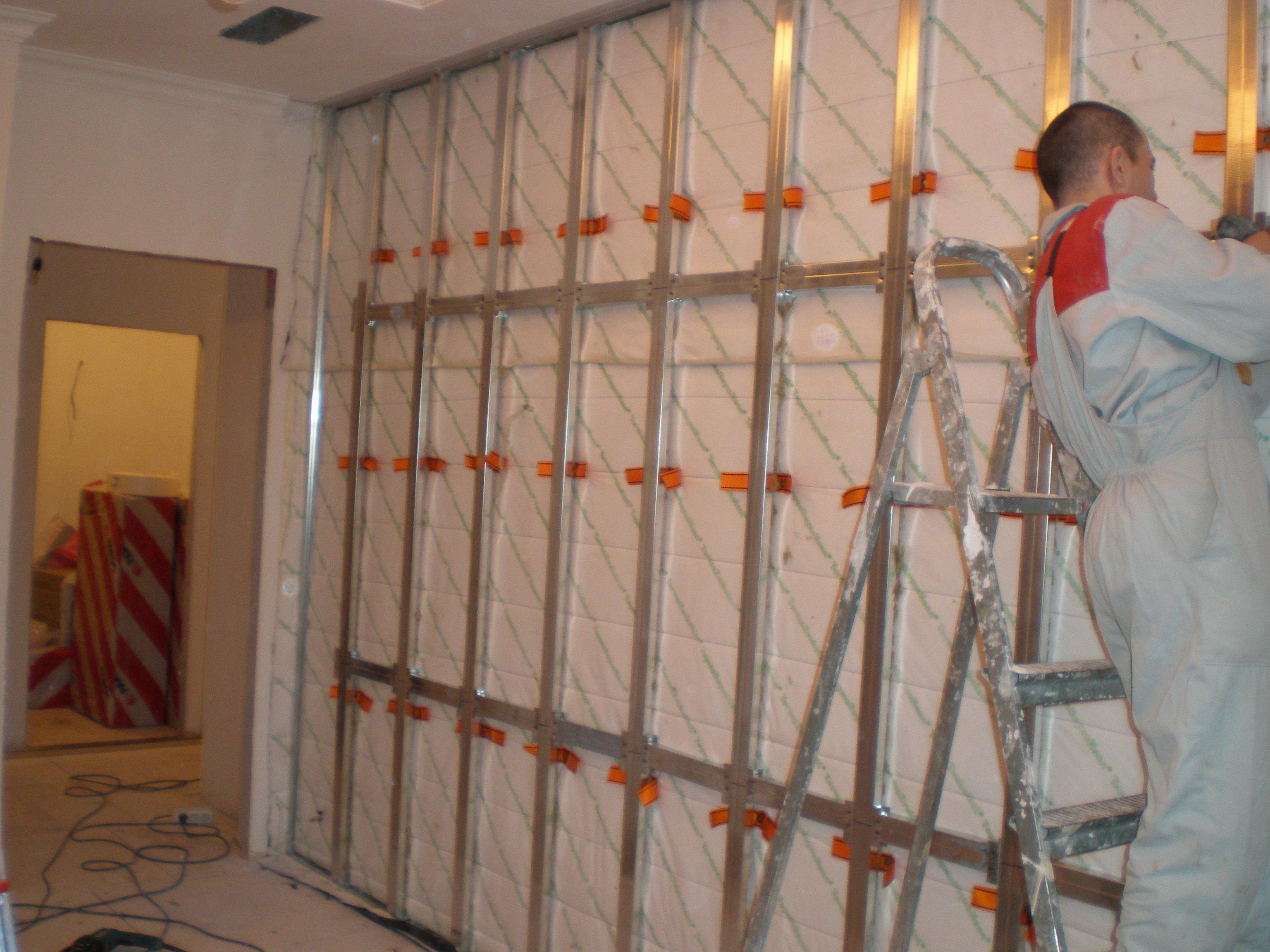 Как правильно сделать звукоизоляцию стен