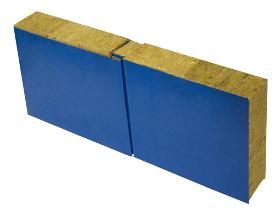 Сэндвич-панель стеновая сминераловатным утеплением ПСМ (14000*1180)