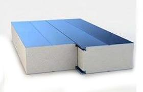 Сэндвич-панель стеновая сутеплением изпенополистирола ПСП (14000*1000)