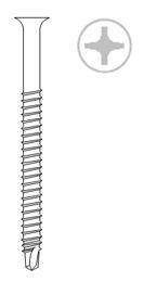 Самосверлящие шурупы E-DB RSTK 4,8 x150