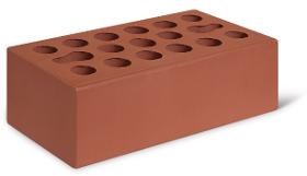 Лицевой керамический кирпич Керма (гладкий) 1,4NF