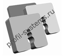 Компенсатор для цокольных профилей ПВХ 5мм
