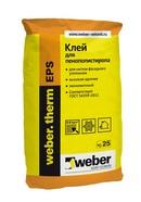 Клеевая смесь для монтажа пенополистирола Weber.th