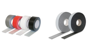PE tape grey 03mm length: 10m