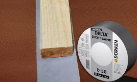 Уплотнительная самоклеящаяся лента DELTA®-DICHT-BAND D50