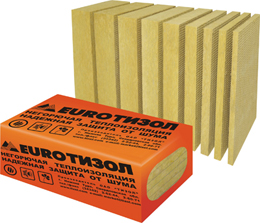EURO— Руф Н: 1000х600х120 (100кг/м3)