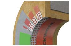 Профиль ROCKWOOL угловой арочный ссеткой